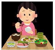 syokuji_woman